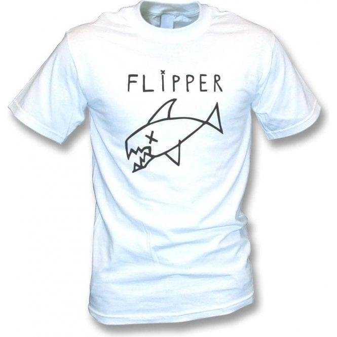 Flipper (As Worn By Kurt Cobain, Nirvana) Vintage Wash T-Shirt