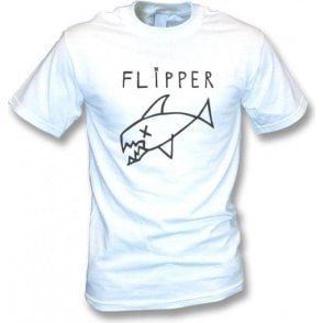 Flipper (As Worn By Kurt Cobain, Nirvana) Vintage Wash T-Shirt