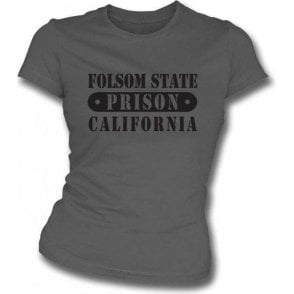 Folsom Prison (Johnny Cash) Girl's Slim-Fit T-shirt