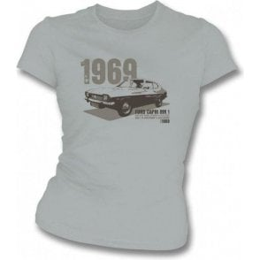 Ford Capri MK1 Girl's Slim-Fit T-shirt