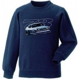 Ford Capri RS 1973 Kids Sweatshirt