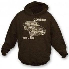 Ford Cortina hooded sweatshirt