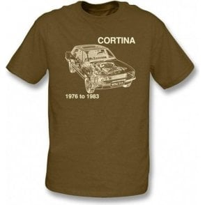 Ford Cortina T-shirt