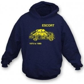 Ford Escort hooded sweatshirt