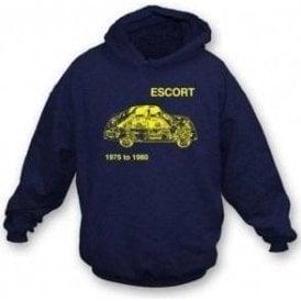 Ford Escort hooded sweatshirt