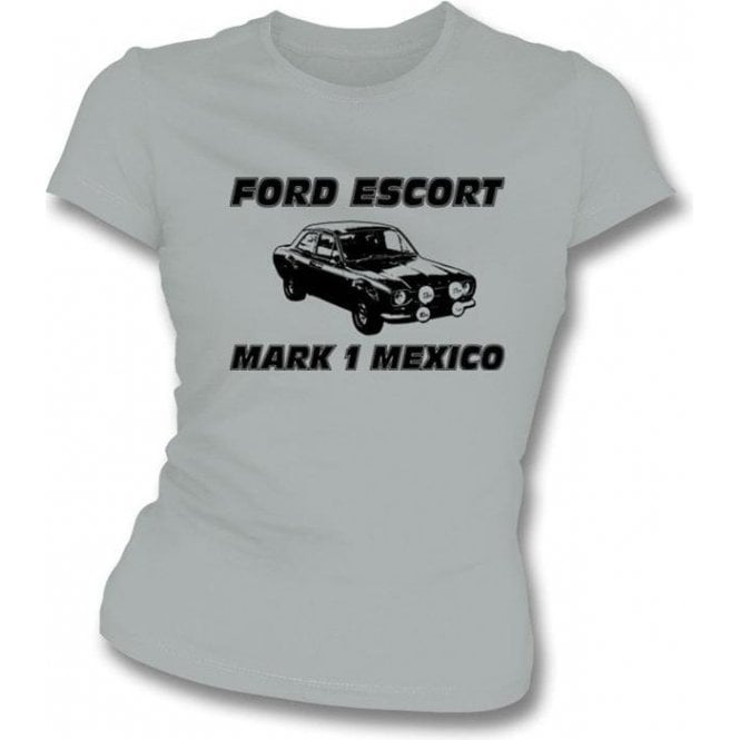 Ford Escort Mark 1 Mexico Girl's Slim-Fit T-shirt