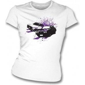 Ford Escort Mark 2 Girl's Slim-Fit T-Shirt
