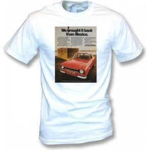 Ford Escort Mexico Advert Kids T-Shirt