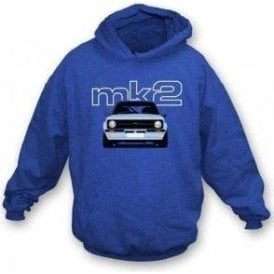 Ford Escort MK2 Hooded Sweatshirt