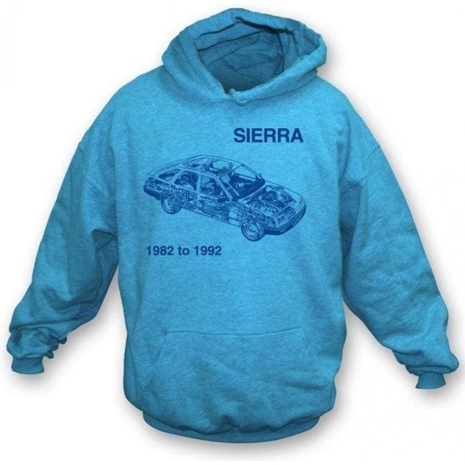 Ford Sierra hooded sweatshirt
