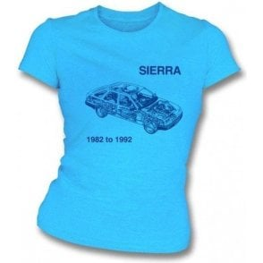 Ford Sierra Womens Slim-Fit T-shirt