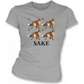 Four Fox Sake Womens Slim Fit T-Shirt