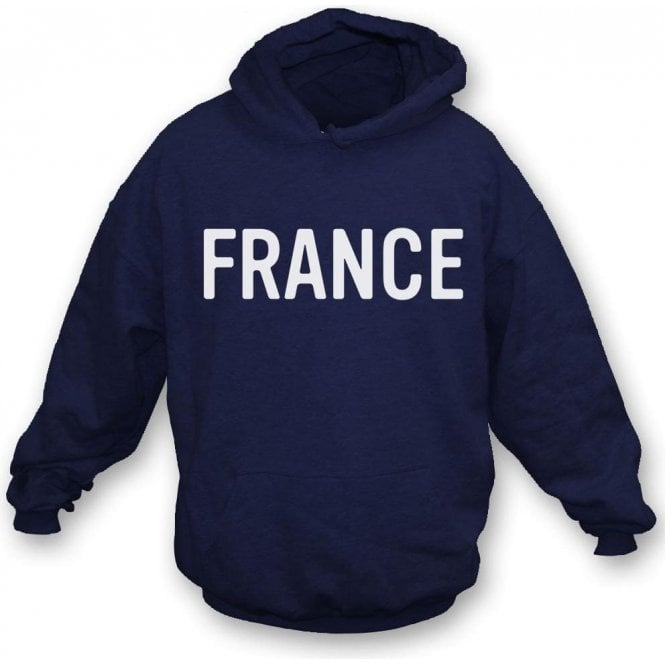 France (As Worn By George Harrison, The Beatles) Hooded Sweatshirt