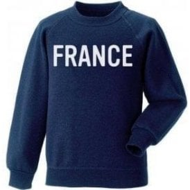France (As Worn By George Harrison, The Beatles) Kids Sweatshirt