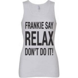 Frankie Say Relax Don't Do It! Women's Baby Rib Tank Top