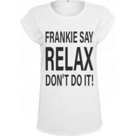 Frankie Say Relax Don't Do It! Women's Extender Shoulder T-Shirt