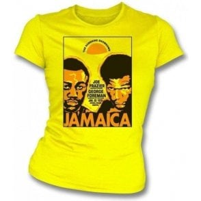 Frazier/Foreman 1973 Girl's Slim-Fit T-shirt