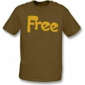 Free - Seventies Supergroup (original design) t-shirt