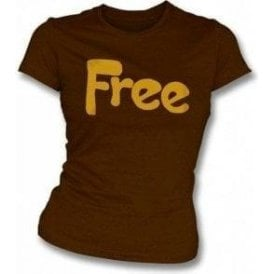 Free - Seventies Supergroup (original design) Womens slimfit t-shirt
