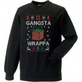 Gangsta Wrappa Christmas Jumper