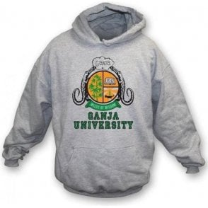 Ganja University (As Worn By Bob Marley) Hooded Sweatshirt