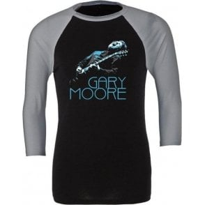 Gary Moore Photo 3/4 Sleeve Unisex Baseball Top
