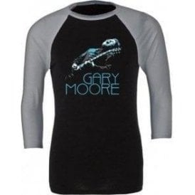 Gary Moore Photo 3/4 Sleeve Unisex Baseball Top