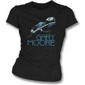 Gary Moore Photo Girl's Slim-Fit T-shirt