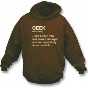 Geek Definition Hooded Sweatshirt