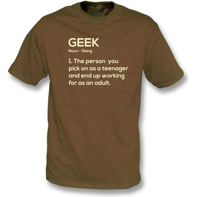 Geek Definition T-Shirt