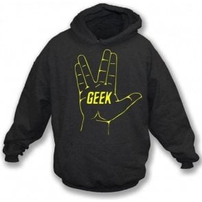 Geek (Inspired by Star Trek) Hooded Sweatshirt