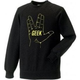 Geek (Inspired by Star Trek) Sweatshirt