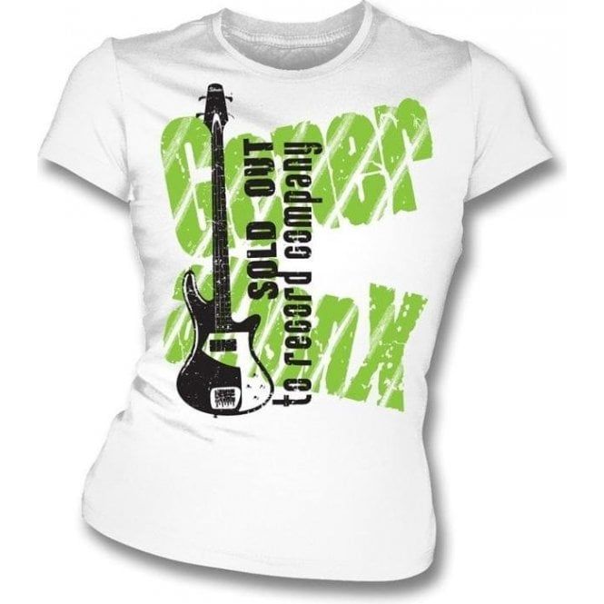 Generation X-Sold Out To Record Company (As Worn By Tony James, Gen X) Womens Slim Fit T-Shirt