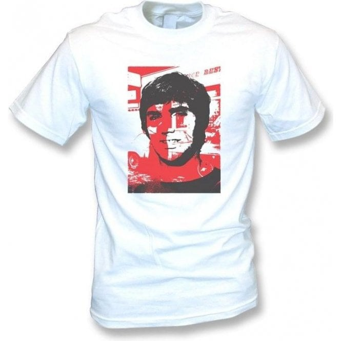 George Best Collage Vintage Wash T-Shirt