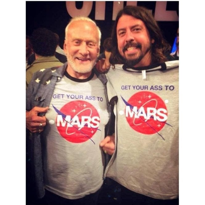 Mars Get Your Ass To Mars Size S to 3XL Color Black Men/'s T-shirt