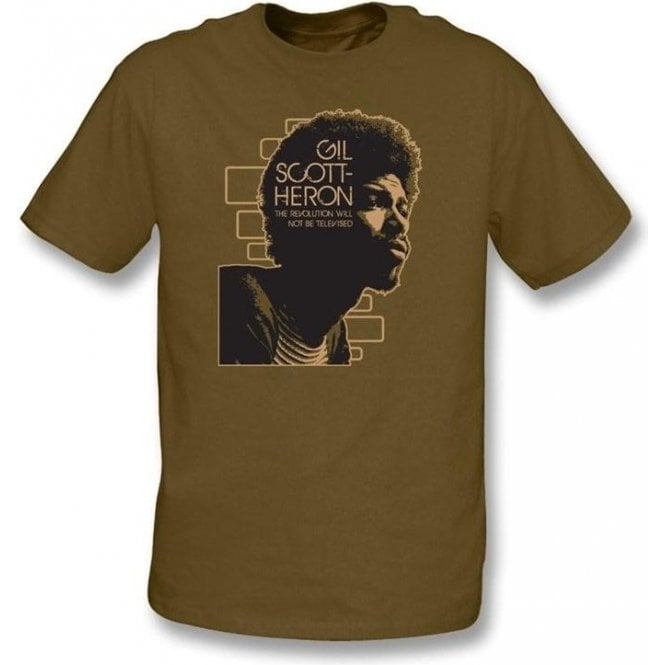 Gill Scott Heron The Revolution will not be televised Men's T-shirt