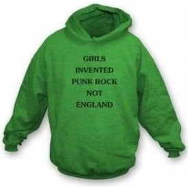 Girls Invented Punk Rock (As Worn By Kim Gordon, Sonic Youth) Hooded Sweatshirt