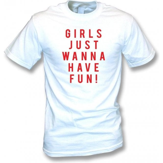Girls Just Wanna Have Fun (As Worn by Katy Perry) Kids T-Shirt
