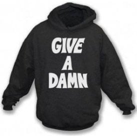 Give A Damn (As Worn By Alex Turner, Arctic Monkeys) Hooded Sweatshirt