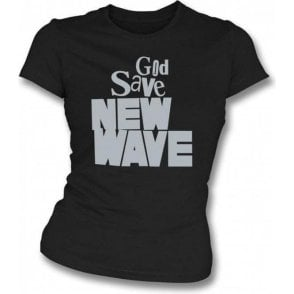 God Save New Wave Girl's Slim-Fit