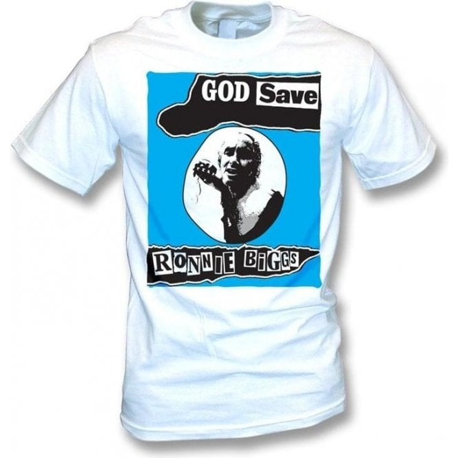 God Save Ronnie Biggs (Sex Pistols) T-Shirt
