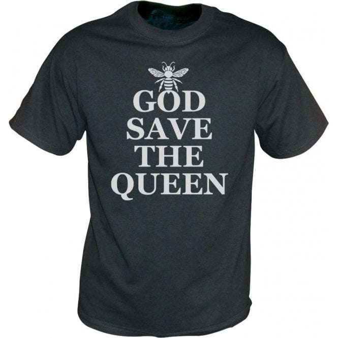 God Save The Queen Bee (As Worn By Chrissie Hynde, The Pretenders) Vintage Wash T-Shirt