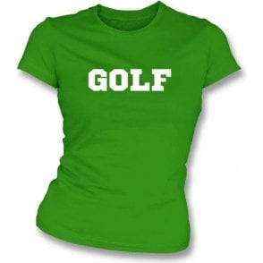 Golf Womens Slim Fit T-Shirt