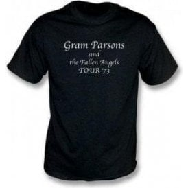 Gram Parsons and The Fallen Angels - Tour 73 t-shirt