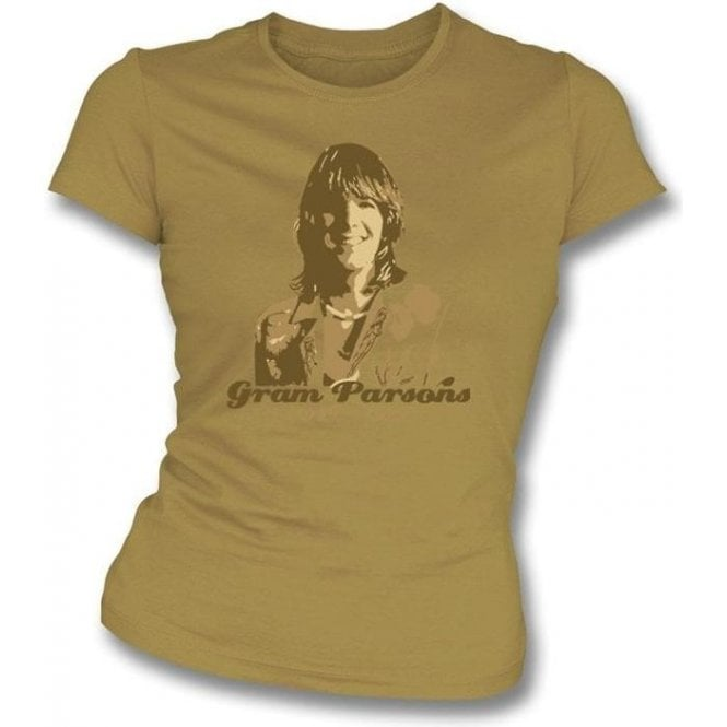 Gram Parsons - Tribute Girl's Slim-Fit T-shirt