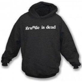 Grunge Is Dead (As Worn By Kurt Cobain, Nirvana) Hooded Sweatshirt