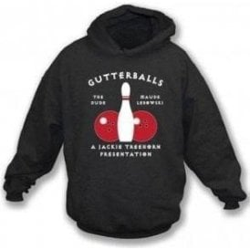 Gutterballs (Inspired by The Big Lebowski) Hooded Sweatshirt