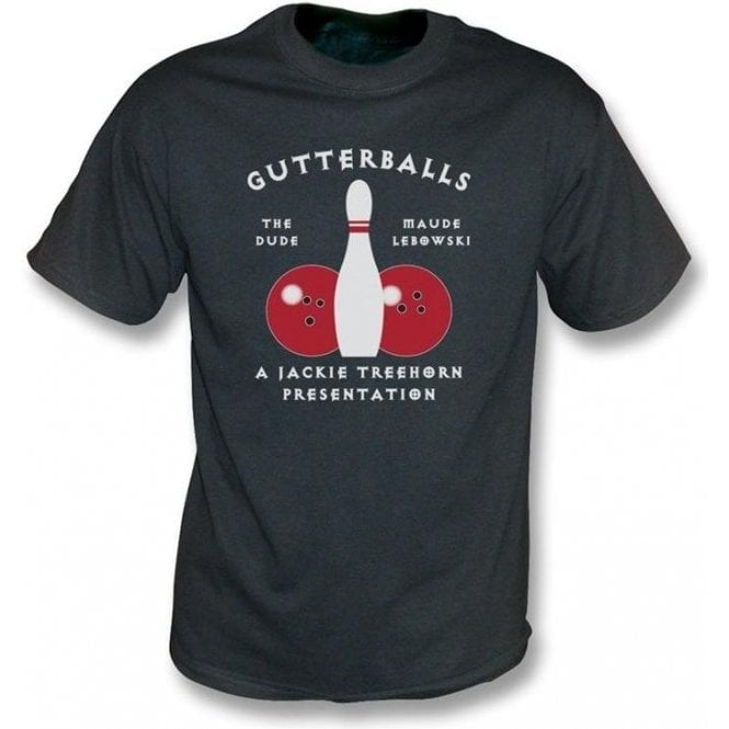 Gutterballs (Inspired by The Big Lebowski) Men's Vintage Wash T-shirt