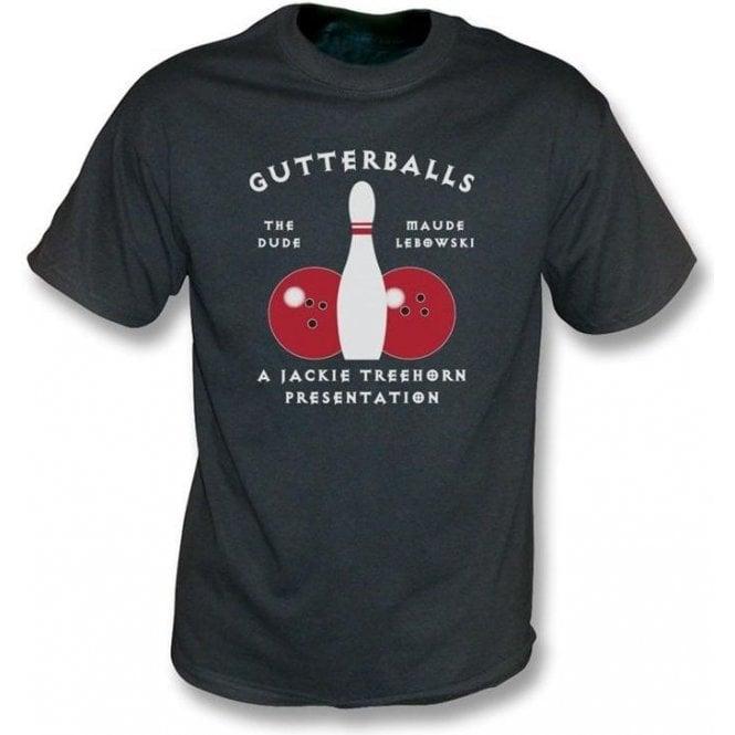 Gutterballs (Inspired by The Big Lebowski) Men's Vintage Wash T-shirt