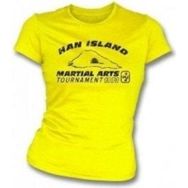 Han Island (Inspired by Enter the Dragon) Girl's Slim-Fit T-shirt